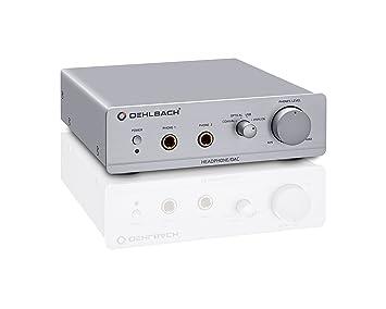 Oehlbach D1C13901 - Amplificador para auriculares, color plateado