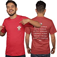 Wales Grand Slam T Shirt - Wales Rugby T Shirt Grand Slam 2019 Champions Welsh Rugby Shirt