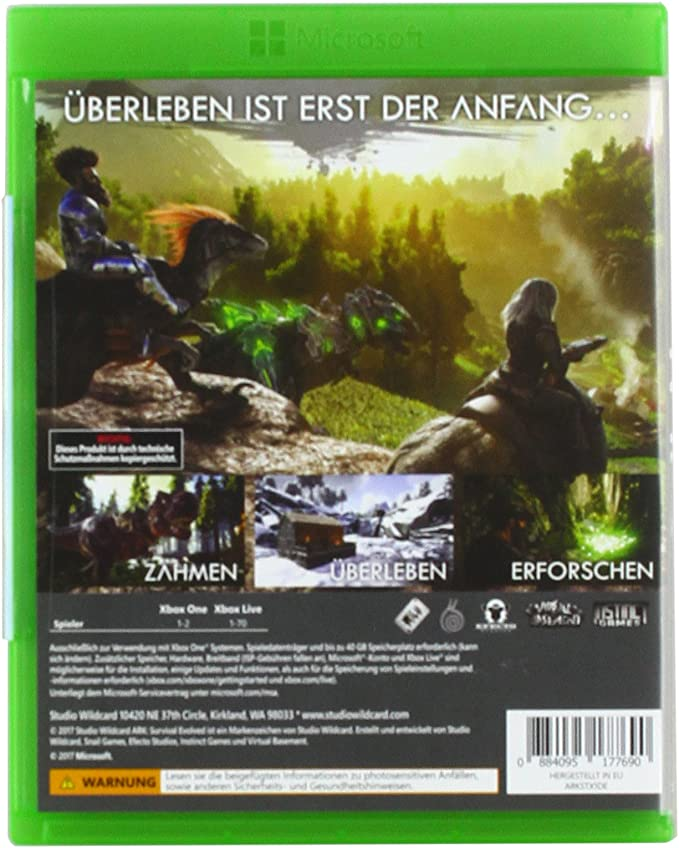 ARK: Survival Evolved - Xbox One [Importación alemana]: Amazon.es: Videojuegos