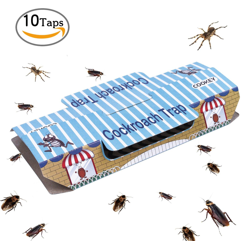 Cookey Cucaracha Trampas para el Control de Plagas en el Hogar Matar Cucarachas Hormigas Arañas y
