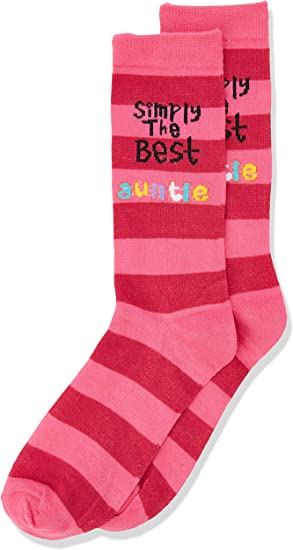 Very Special Auntie Pink Socks Birthday or Christmas Present