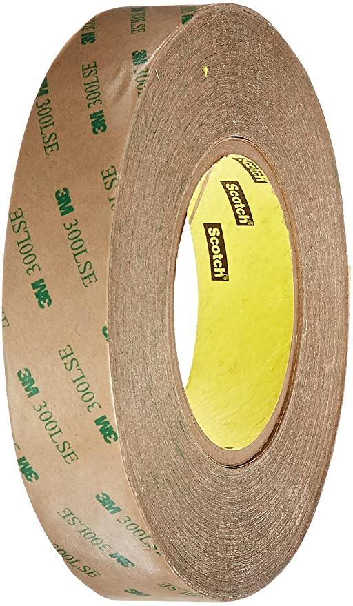 3M 9495LE 5-9495LE-1//2 Adhesive Transfer Tape 0.5 Diameter Circle Pack of 5