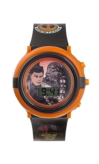 Star Wars para Niño - Reloj Digital con Esfera Multicolor y Correa de plástico swm3006: Amazon.es: Relojes