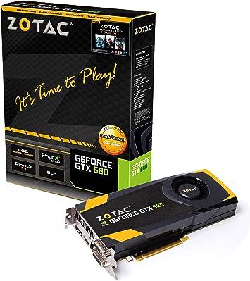 Amazon.com: ZOTAC ZT-60103-10P GeForce GTX 680 4 GB 256-bit ...