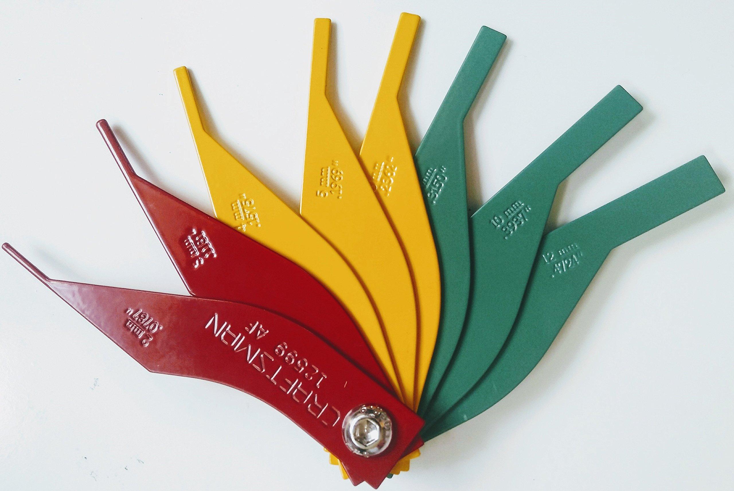 Craftsman Brake Lining Thickness Gauge 12599, Bulk Packed