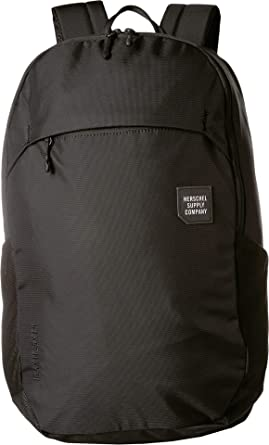 Herschel Supply Co. Unisex Mammoth Large Black 1 One Size 26d4426c5e446