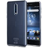 Nokia 8 Clear Case - Transparent Gel Cover - Olixar Ultra Thin - 100% Crystal Clear - Slim, Protective, Non Slip Silicone Case
