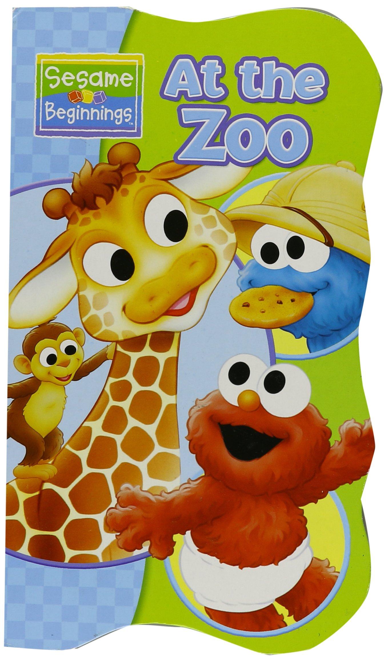 Read Online At the Zoo (Sesame Beginnings) (Sesame Beginnings) PDF
