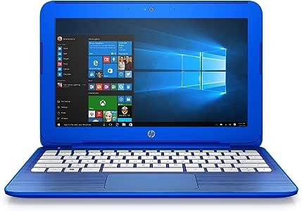 Amazon Com Discontinued Hp Stream 11 R010nr 11 6 Inch Notebook Intel Celeron Processor 2gb Ram 32 Gb Hard Drive Windows 10 Home 64 Bit Cobalt Blue Computers Accessories
