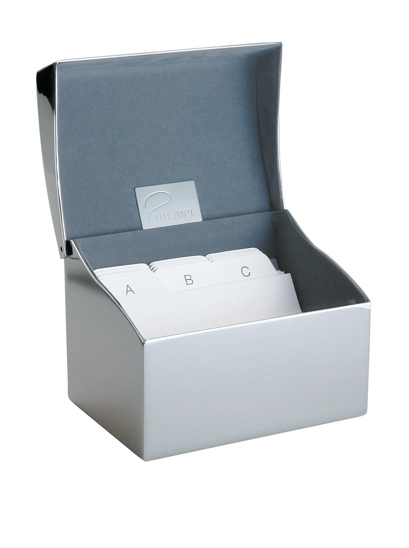 Philippi Clip Caja para Tarjetas de Visita 10 Centimeters Plateado ...