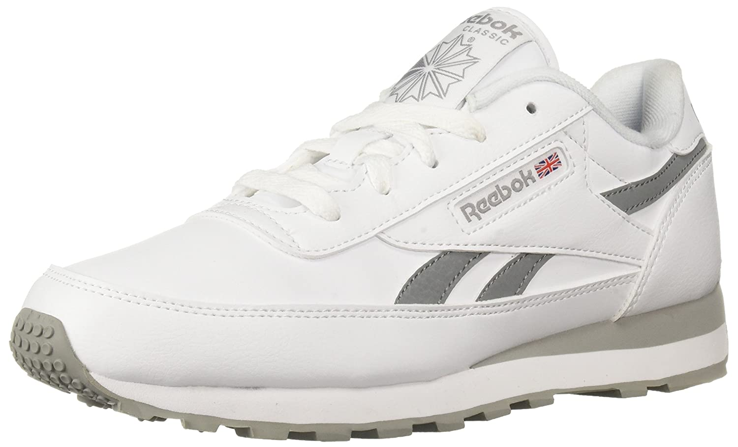 Reebok Women's Classic Renaissance Walking Shoe B078DFJW9R 10 B(M) US|Us-white/Flat Grey