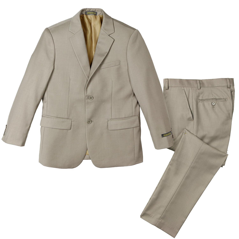 Spring Notion Big Boys' Two-Button Suit Set ERF323-SNS-323-3P