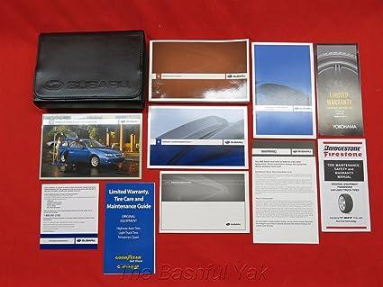 amazon com 2009 subaru impreza owners manual automotive rh amazon com subaru wrx 2009 owners manual subaru wrx 2009 service manual