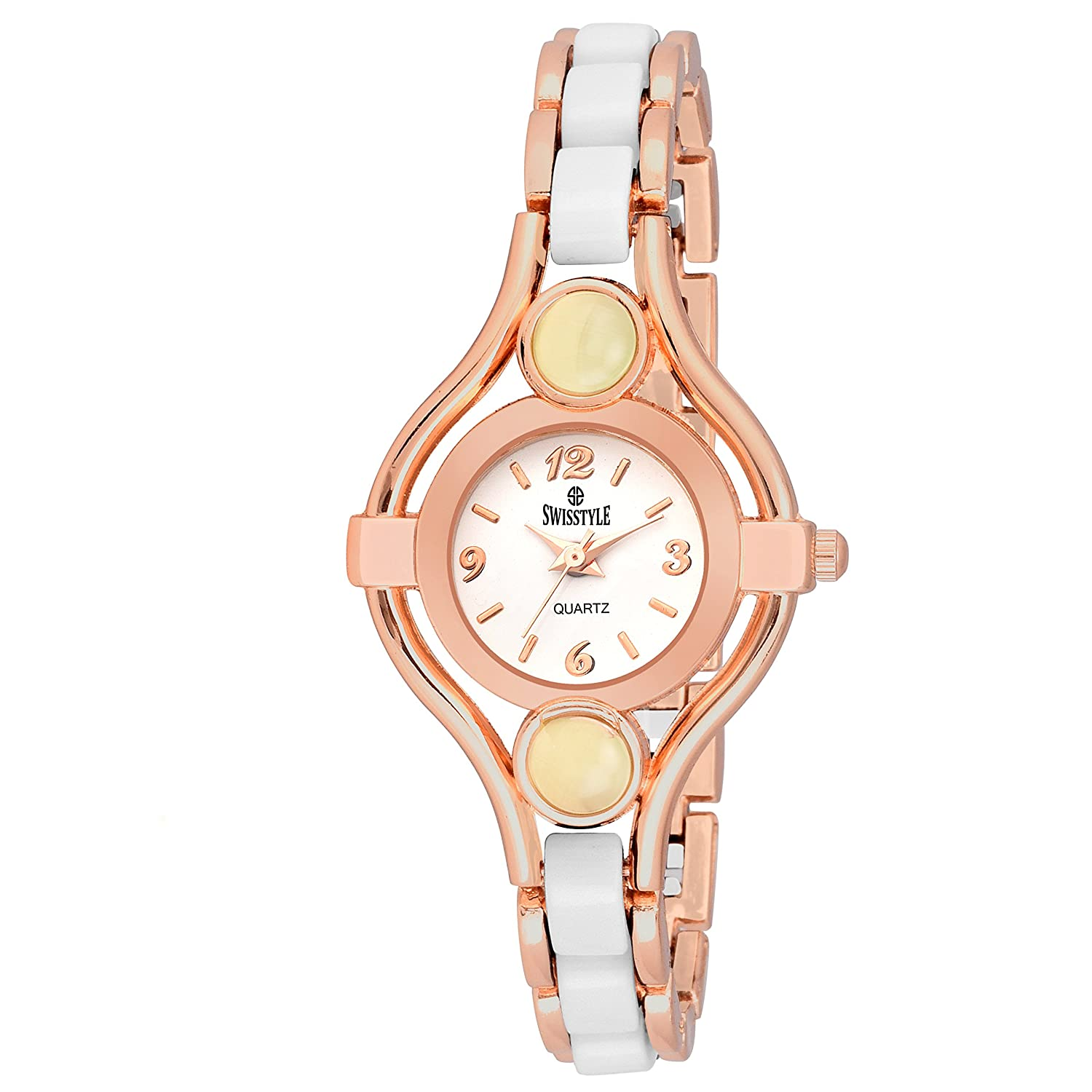 Swisstyle SS-LR076-WHT-CPR Analog watch for women