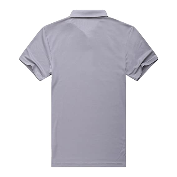 7bc8be6a6975 EAGEGOF Regular Fit Men s Golf Polo Shirt Quick Dri Short Sleeve Fashion  Classic Style at Amazon Men s Clothing store