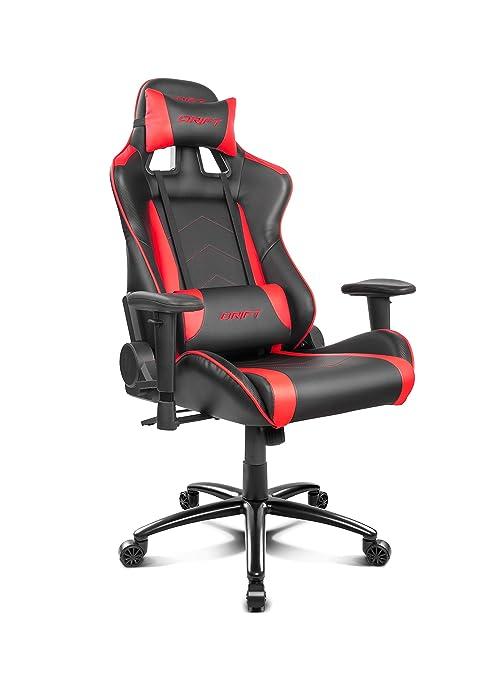 Drift Gaming DR150BR - Silla, Rojo
