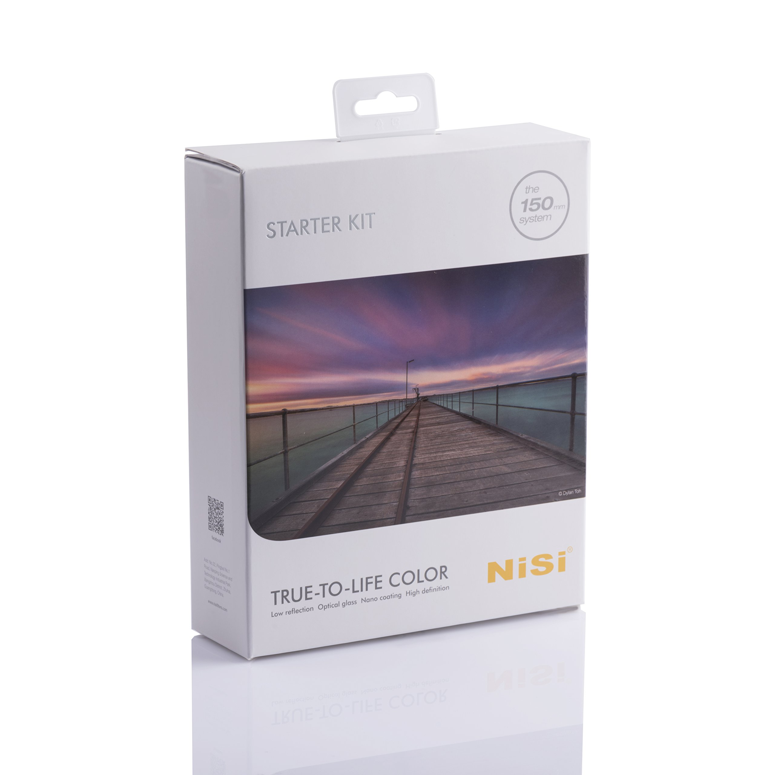 NiSi 150mm System Starter Filter Kit-1pc Soft GND Filter, 2pcs ND Filters and Accessories