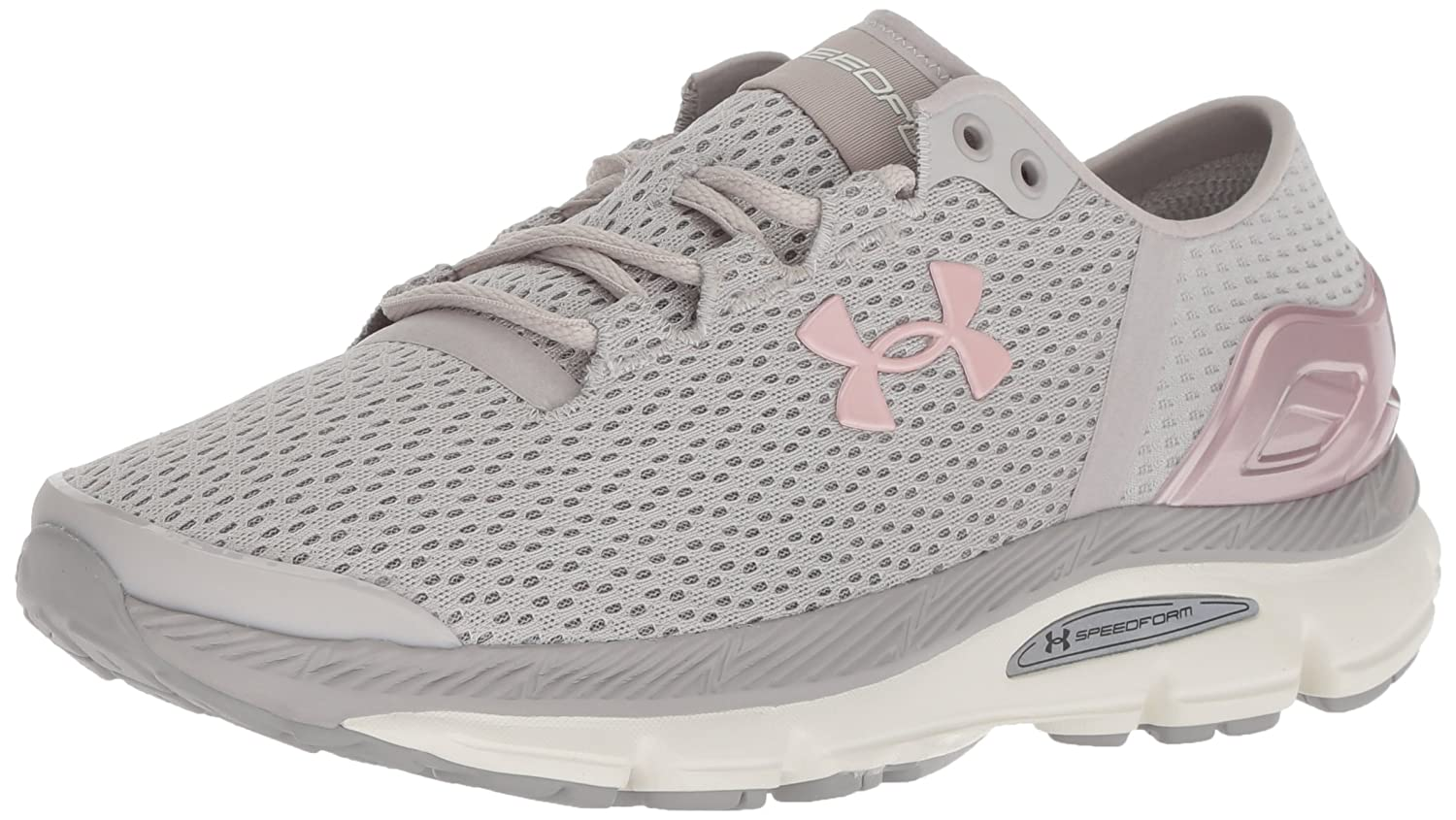 Under Armour Women's Speedform Intake 2 Running Shoe B07768GP62 9 M US|Ghost Gray (101)/Tin