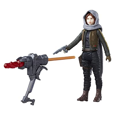 Star Wars Rogue One Sergeant Jyn Erso (Jedha) Figure: Toys & Games