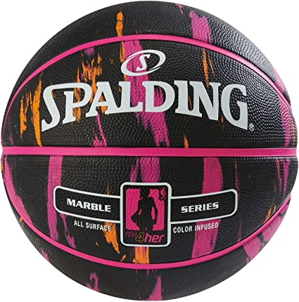 Spalding NBA Marble 4HER out SZ.6 (83-875Z) Basketballs, Juventud ...