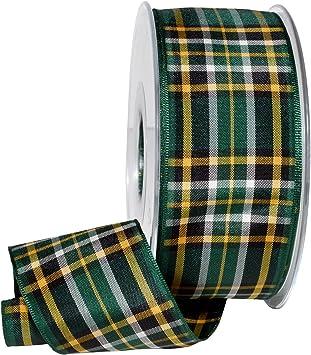 Authentic Irish National Scotch// Irish Tartan Plaid Ribbon choice of 25 yards