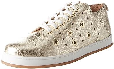 Twin Set Cs8pje, Chaussures de Gymnastique Femme, Or (Platino), 39 EU