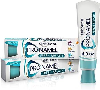 2-Pack Sensodyne ProNamel Fresh Breath Toothpaste Tubes 4 Ounce