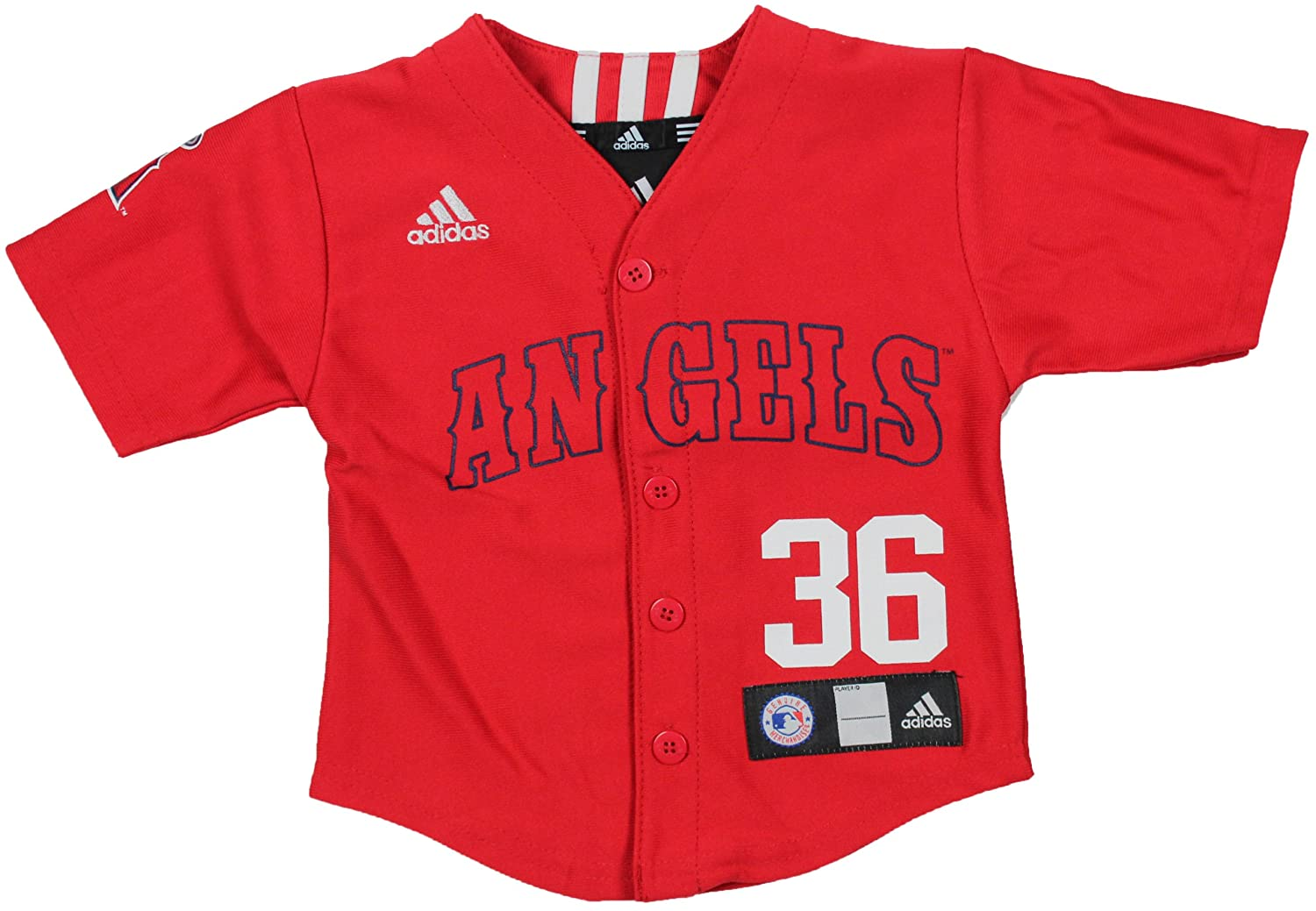 well-wreapped MLB Los Angeles Angels Toddler Jered Weaver ...