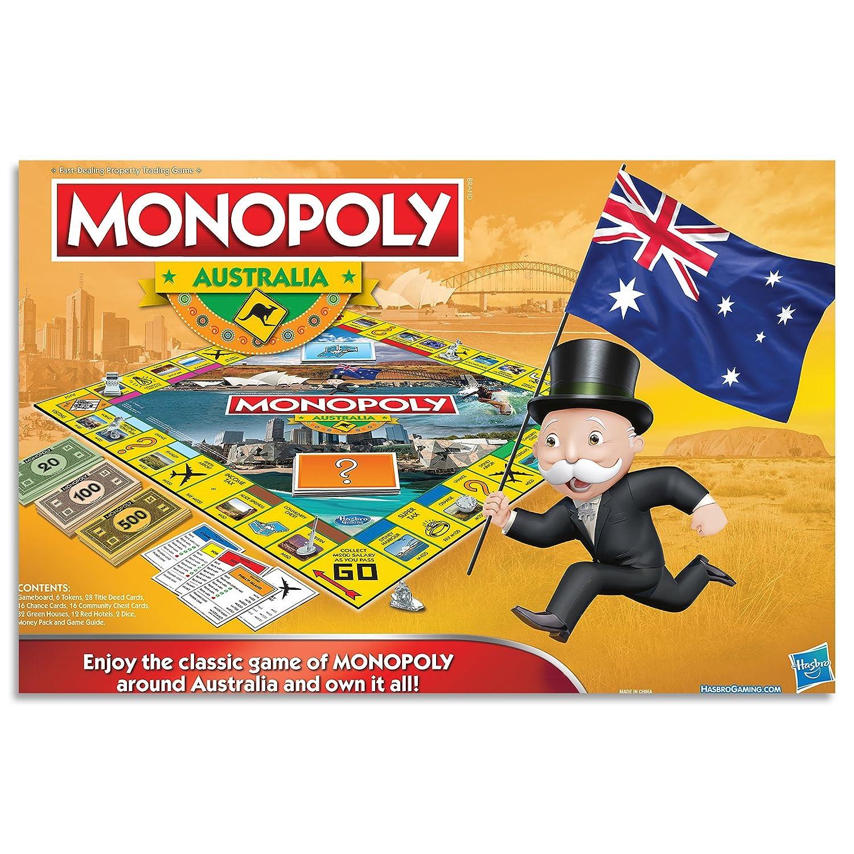 Monopoly Australia Edition Family Board Game Ages 8 Amazon Com