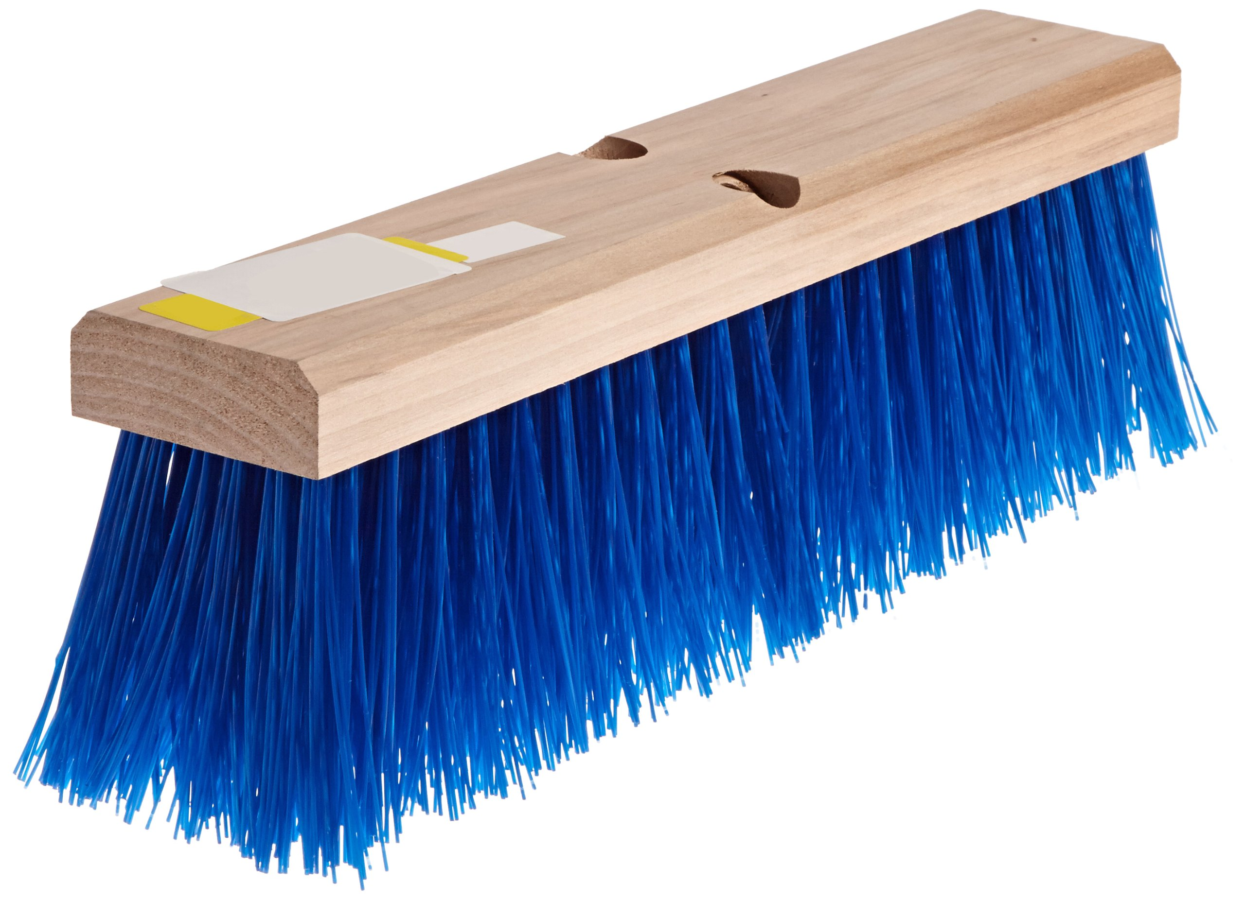 Carlisle 3611401814 Flo-Pac Hardwood Block Floor Sweep, Heavy Polypropylene Bristles, 4-1/2'' Bristle Trim, 18'' Length, Blue by Carlisle (Image #2)