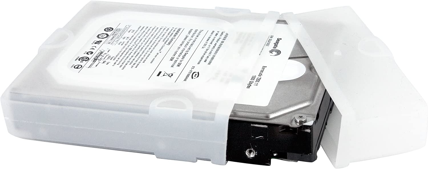 PROVIDES SAFE HANDLING AND ANTI-STATIC PROTECTION FOR MOST 2.5IN HARD DRIVES H HDDCASE25BK