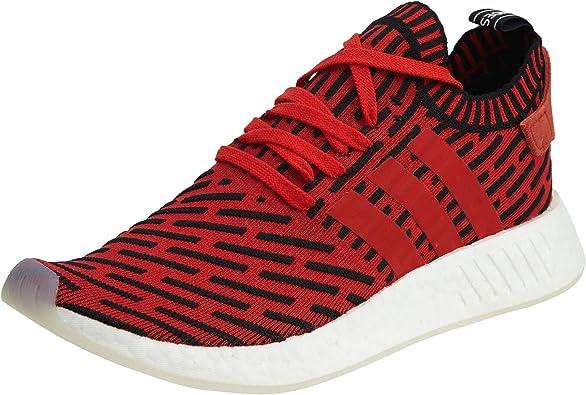 Adidas Originals NMD R2 PK boost mens running shoes striped