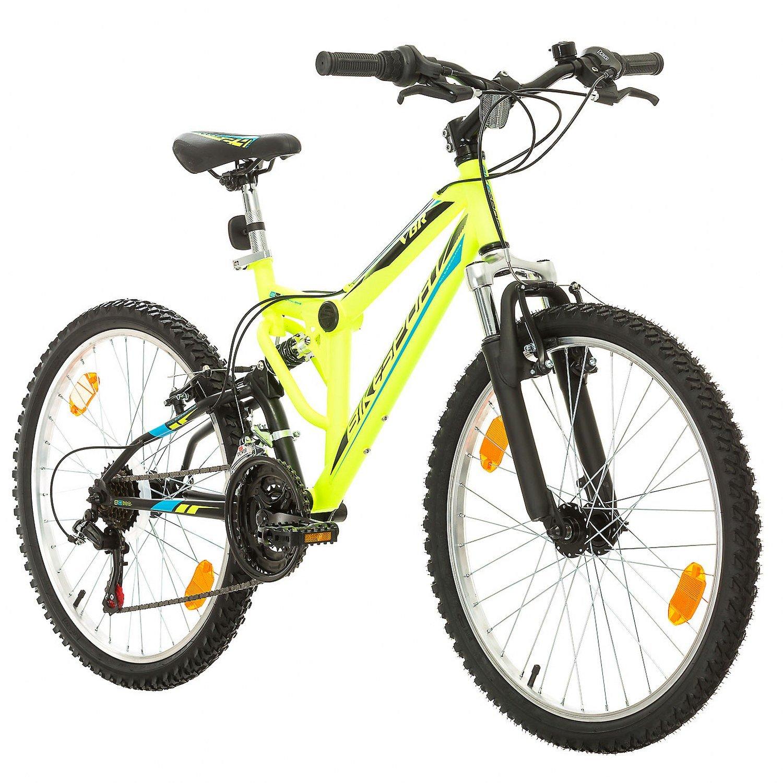 BIKE SPORT LIVE ACTIVE Fahrrad MTB Mountainbike Fully Full Suspension 24 Zoll Bikesport Parallax Shimano 18 Gang Lieferung vor Weihnachten   4-6 Tage