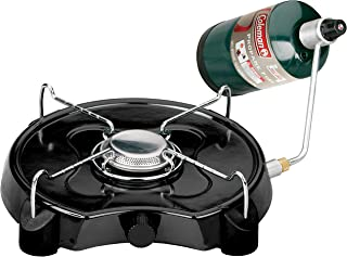 """product image for Coleman PowerPack Propane Stove, Single Burner, Coleman Green - 2000020931, 4"""" H x 13.38"""" W x 12.5"""" L"""