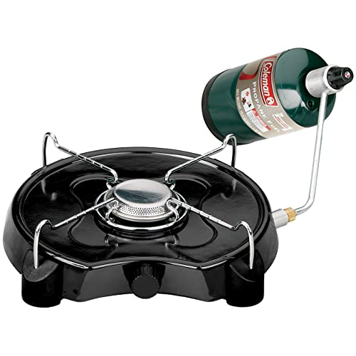 Coleman Powerpack Propane Stove, Single Burner, Coleman Green
