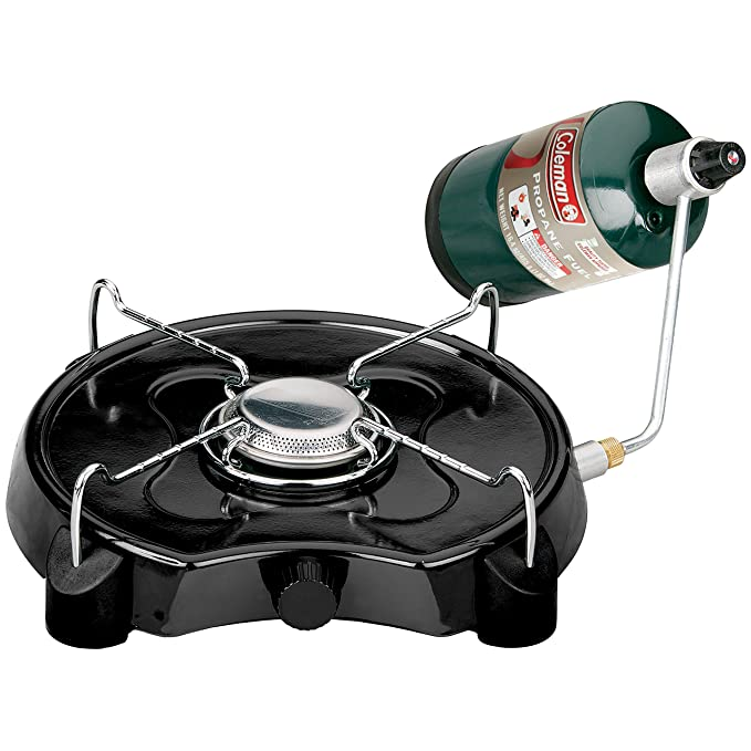 Coleman PowerPack Propane Stove, Single Burner, Coleman Green - 2000020931 best camp stoves