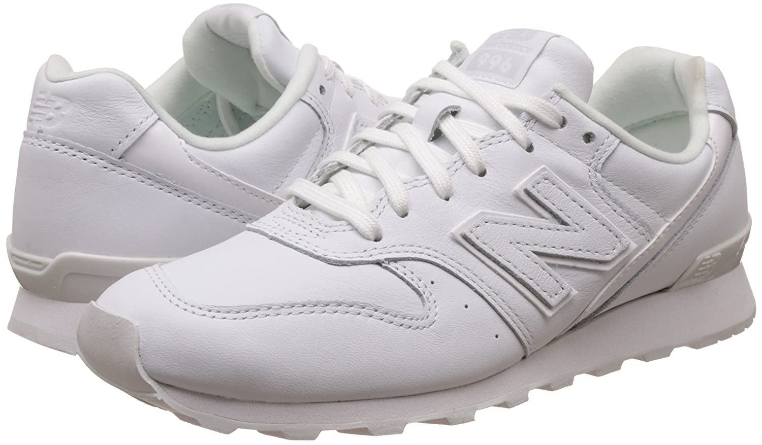 wholesale dealer 8c4f9 c96bd Amazon.com: New Balance Wr996 Heritage Womens Trainers White ...