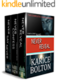 The Complete Volkov Brotherhood Series: Never Reveal: Blake, Never Confess: Devin, Never Say Never: Jaxson: A Romantic Suspense