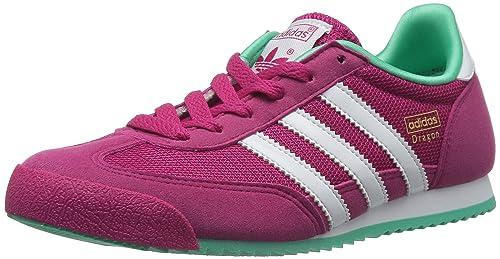 pink Running Buzz Niñas Dragon Zapatillas White Adidas Para S10 A0Ixp