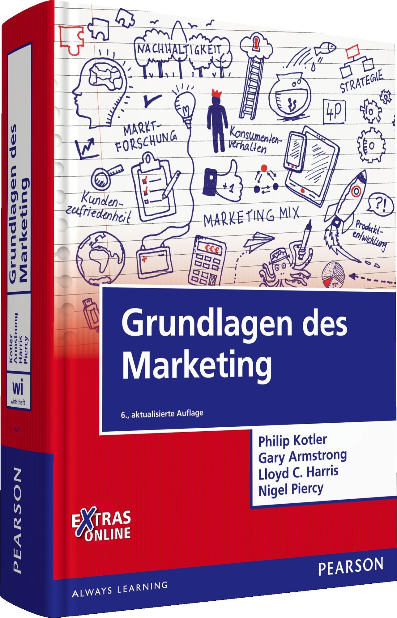 Grundlagen des Marketing (Pearson Studium - Economic BWL) Gebundenes Buch – 1. April 2016 Philip Kotler Gary Armstrong Lloyd C. Harris Nigel Piercy