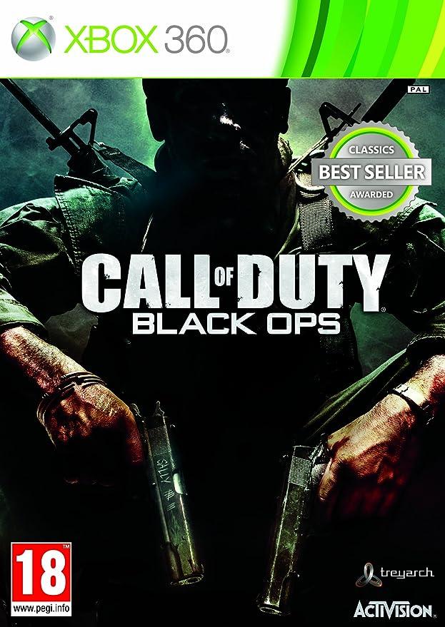 Activision Call of Duty: Black Ops, Xbox 360 Xbox 360 vídeo - Juego (Xbox 360, Xbox 360, Shooter, Modo multijugador, M (Maduro), Soporte físico): Amazon.es: Videojuegos