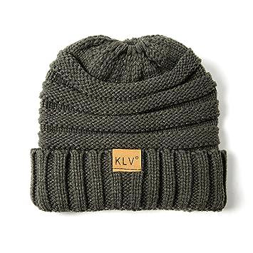f8f1294ecf7 Amazon.com   Boomdan Unisex Retro Trawler Winter Beanie Hat Solid Cotton Hats  Unisex Warm Winter Wool Knitted Hat (E)   Beauty