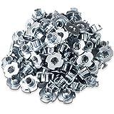 Business & Industrie Eisenwaren 100 Einschlagmuttern M4 Stahl Verzinkt Einschlaggewinde Gewinde ZuverläSsige Leistung