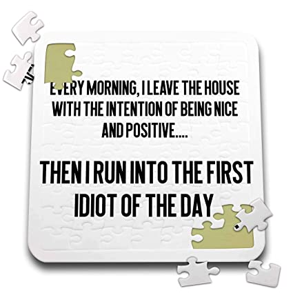 Amazon.com: 3dRose Lenas Photos - Funny Quotes - Stupid ...