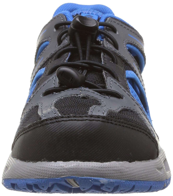 ,Black//Hyper Blue,1 M US Little Kid Columbia Youth Supervent Hybrid Water Shoe Little Kid//Big Kid