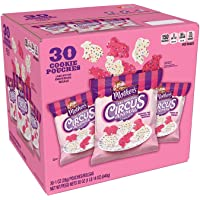 Mother's Circus Animal Frosted Sprinkle Cookies (30 Pouches - 1oz/28g) Each