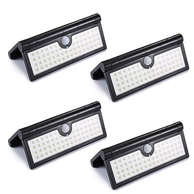 Glighone Lampe solaire LED 4 Pcs 58 Leds Extérieure Étanche ...