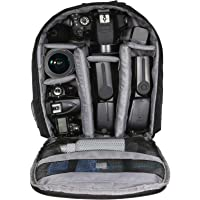 Dazzne Shockproof Waterproof Compact Camera Case Backpack (Black)