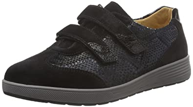 Ganter Sneakers Sensitiv Schwarz Damen schwarz K Weite Klara rrnfqO