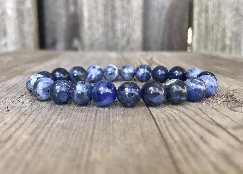 Sodalite marble bracelet